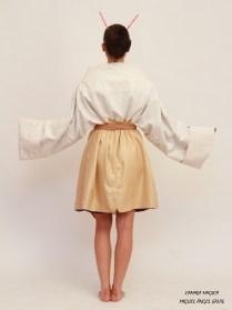abrigo geisha back