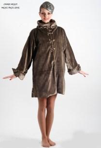 Abrigo Terciopelo Plata Silver Velvet Coat 250€
