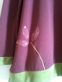 detalle flor uva
