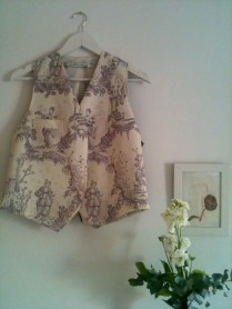 Chaleco clásico oriente Oriental classic waistcoat 63€
