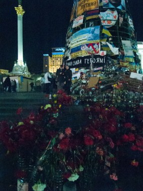 Flowers at the Maidan
