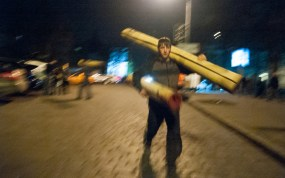 People still help to people who stayed on Maidan