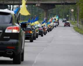 Motor rally dedicated to Victory Day