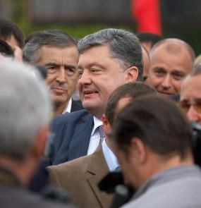 Poroshenko came