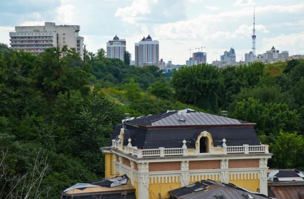 View from from Zamkovaya gorka (Castle Hill)