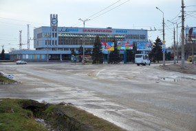 Mariupol railroad station