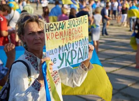 """Let the Kremlin brute that Mariupol is Ukraine"""