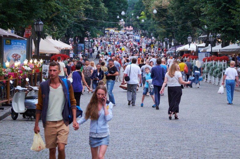 Deribassovskaya street