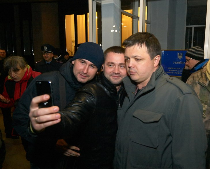 Selfie with the People's Deputy of Ukraine