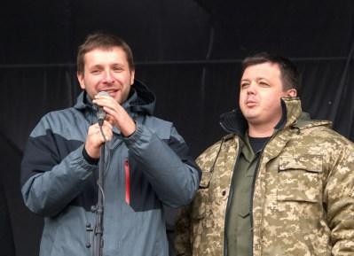 Володимир Парасюк та Семен Семенченко
