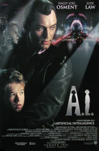 1- A.I. Artificial Intelligence