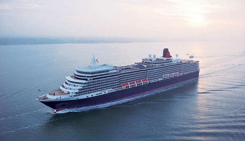 رحلة Cunard Queen Elizabeth رحلة