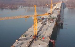 2 Spojen glavni luk mosta Zemun - Borča