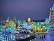 Harbin festival skulptura od snega i leda 2014