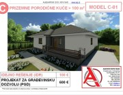 MODEL C-01, gotovi projekti vec od 50e, projekti, projektovanje, izrada projekata, house design, house ideas, house plans, interior design plans, house designs, house