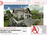 MODEL E-16, gotovi projekti vec od 50e, projekti, projektovanje, izrada projekata, house design, house ideas, house plans, interior design plans, house designs, house