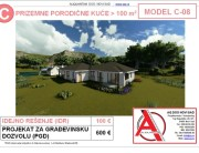 MODEL C-08, gotovi projekti vec od 50e, projekti, projektovanje, izrada projekata, house design, house ideas, house plans, interior design plans, house designs, house