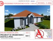 MODEL C-09A, gotovi projekti vec od 50e, projekti, projektovanje, izrada projekata, house design, house ideas, house plans, interior design plans, house designs, house