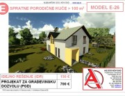 MODEL E-26, gotovi projekti vec od 50e, projekti, projektovanje, izrada projekata, house design, house ideas, house plans, interior design plans, house designs, house