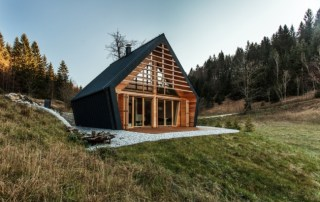 Wooden House in Slovenia