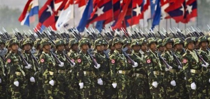 Myanmar military - Photograph: Wikipedia