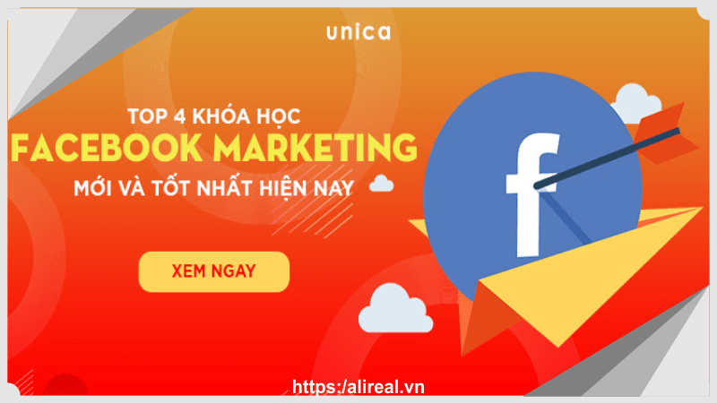 top 4 khóa học facebook marketing