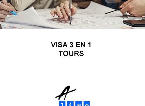 VISA 3 EN 1 TOURS