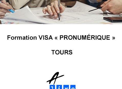 formation visa pro numérique Tours