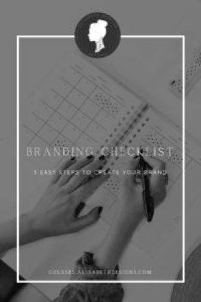 branding checklist, logo design, branding, DIY logo design, DIY website, DIY logo, DIY branding, branding for beginners, branding essentials