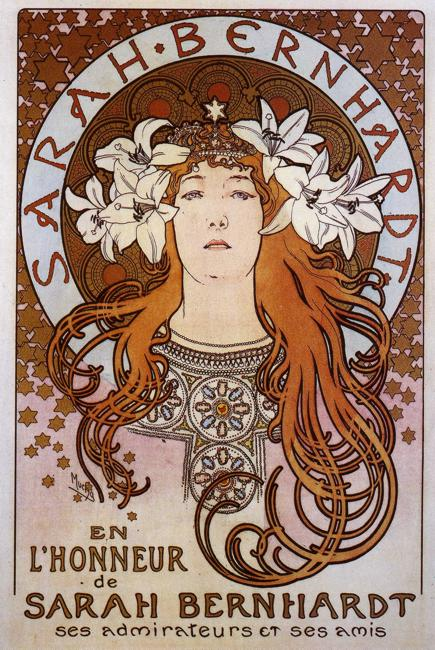 alphonse mucha and the femme fatale