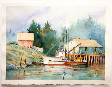 Watercolor Workshop with Ian Ramsay