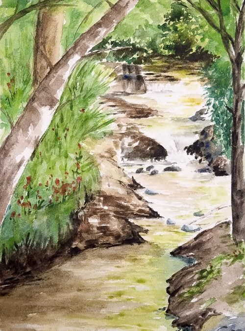 Plein Air Watercolor Painting with SGVA