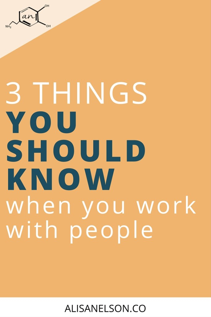When you work with clients, you need to know a few things about how the average person works. Save yourself the headache and read these 3 facts about people. More at http://alisanelson.co