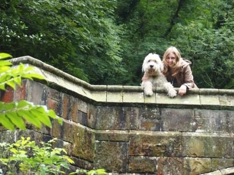 Daisy Dog & myself