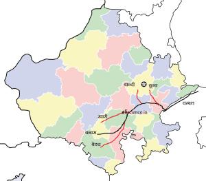 राजस्थान की नदियाँ rajasthan ki nadiya