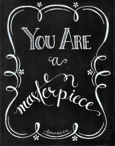"FREE 8x10 download of ""You Are a Masterpiece"" by joining the Masterpiece Society @ Flourish - alishagratehouse.com"