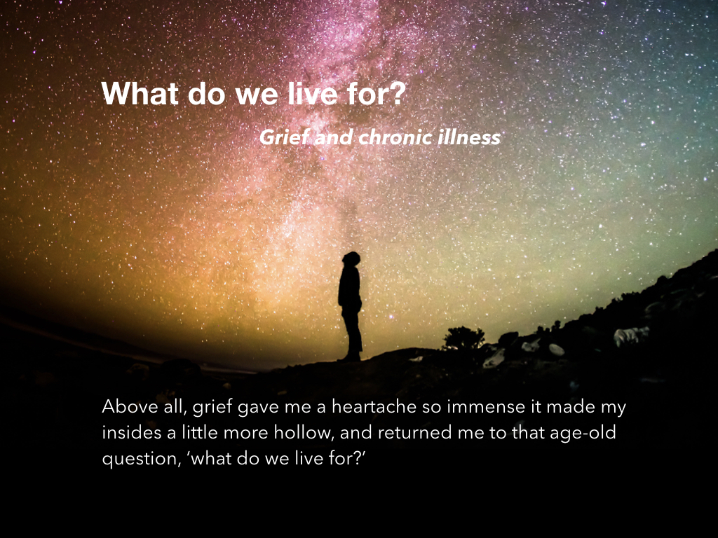 What Do We Live For?