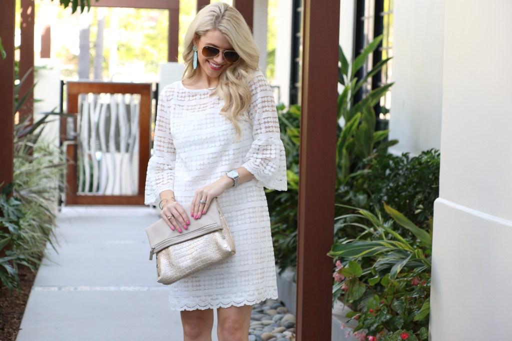 Trina Turk White Dress