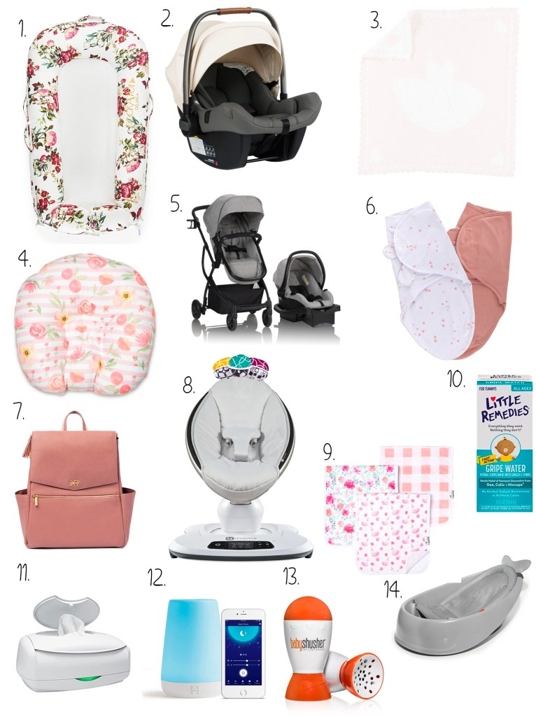 What I actually used in my hospital bag and Newborn must-haves
