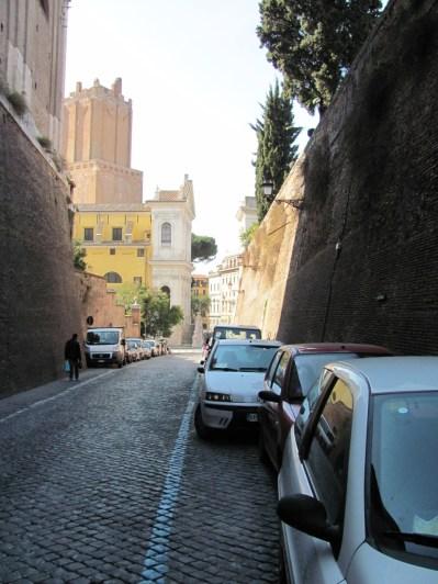 Back of the Trajan markets