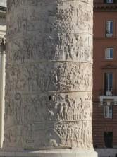 Close-up of Trajan's column