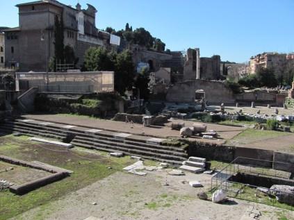 Forurum Romanum - nice steps