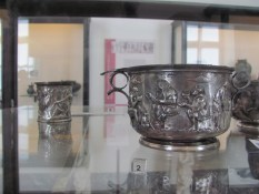 Silver bowls from Pompeii