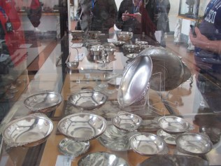Silver tableware from Pompeii