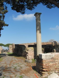 Lone column