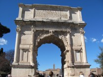 Arch of Titus and Vespasian