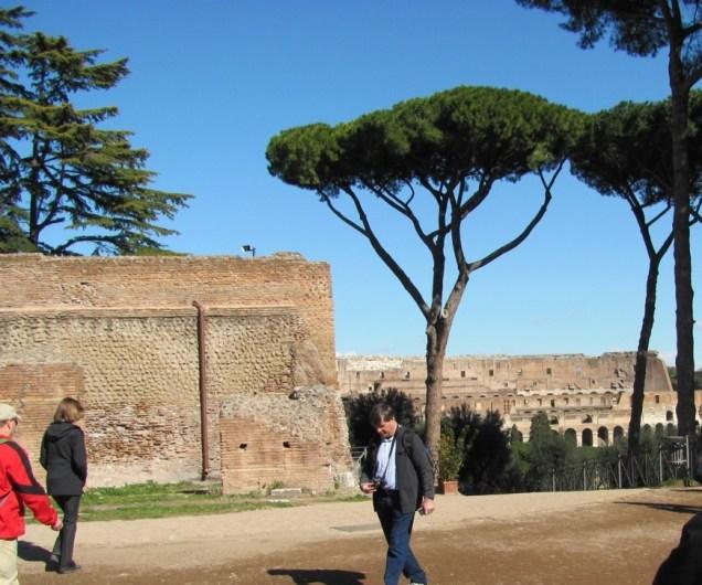 View towards Colosseum