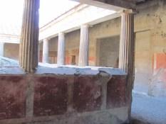 Villa dei Misteri - colonnade