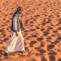 Vast, Echoing and God-like: the burnt orange desert of Wadi Rum