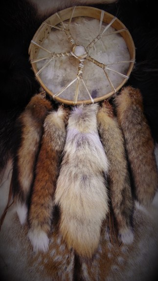 Fox-Bat-Deer Drum